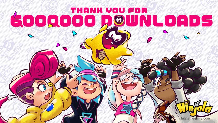 Ninjala en tête de six millions de téléchargements
